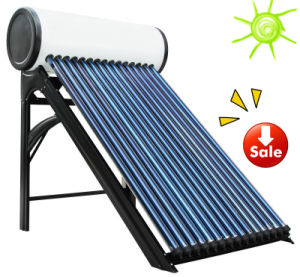 Heat Pipe Vacuum Tube Solar Hot Water Heater (150 liters) pictures & photos