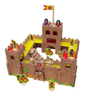 Wooden DIY Castle Toy in MDF pictures & photos