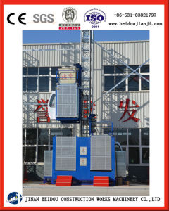 Widely Used in Construction Building 2 Ton Construction Hoist pictures & photos