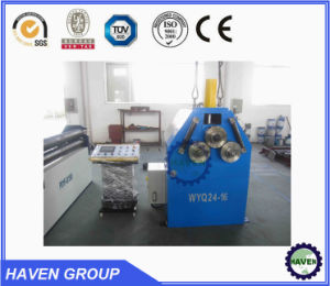 Vertical mechanical Section Profile Bending Machine W24Y-500 pictures & photos