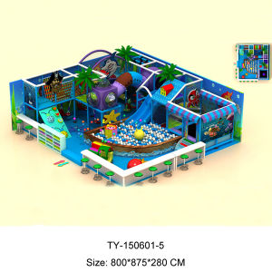 Cheap Kids Indoor Playground Equipment (TY-150601-5) pictures & photos