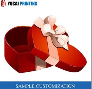 Red Paper Gift Box Love Box Packaging Box Wholesale pictures & photos
