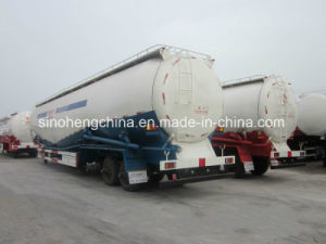 3 Axles Bulk Powder Tank Transport Semi Trailer pictures & photos
