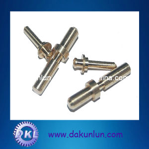 Auto Lathe Contact Pin with Gold Plating (DKL-P032)