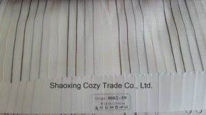 New Popular Project Stripe Organza Voile Sheer Curtain Fabric 008259 pictures & photos