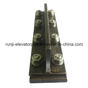 Elevator Parts T45/a Cold Drawn Guide Rail with Fish Plates and Screws