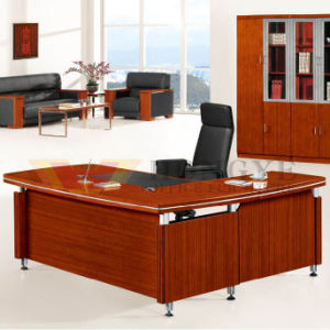 Modern Panel Design Entire Whole Set L Shape Office Table (HY D1518)