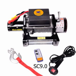 12 Volt Winch 9000lb pictures & photos