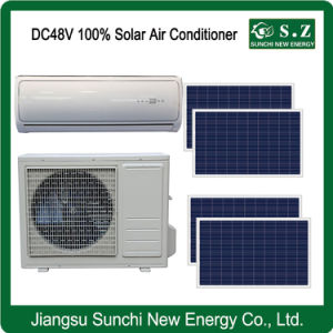 100% DC48V Split Wall Type Solar Air Conditioner Cooling System pictures & photos