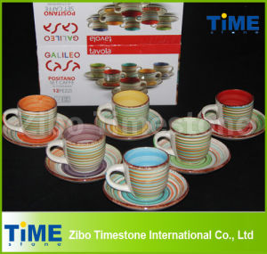 Cheap Ceramic Tea Cup and Saucer Wholesale pictures & photos