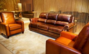 American Style Classic Leather Sofa (A12) pictures & photos
