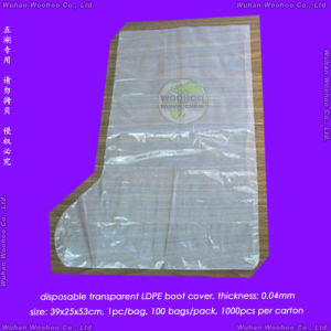 Disposable LDPE Boot Cover pictures & photos