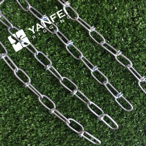 Zinc Plated DIN5686 Knotted Chain pictures & photos