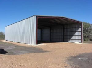 Prefabricated Light Steel Structure Metal Barn Building (KXD-230) pictures & photos