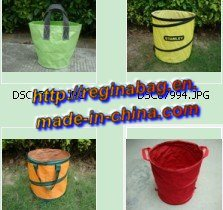 Expandable Garden Bag, Pop up Bag, Collapsible Garden Bag