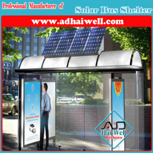Solar Energy Outdoor Street Furniture Bus Station Shelter pictures & photos