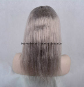 High Quality 150% Density Human Hair Lace Front Wigs pictures & photos