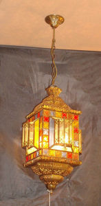 Copper Pendant Lamp with Glass Decorative 18957 Pendant Lighting pictures & photos