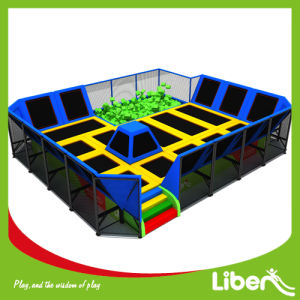 Liben Newest Design Small Trampoline Park with Foam Pit pictures & photos