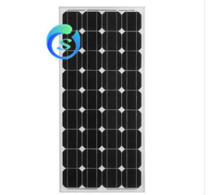 100W Monocrystalline Solar Panel with High Efficiency pictures & photos