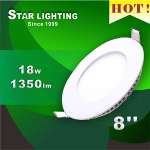 12mm Thickness Aluminum 18W LED Panel Lamp