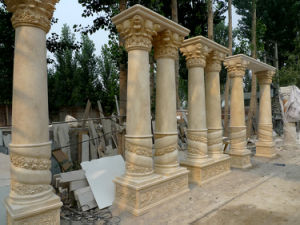 Hand-Carved Marble Columns