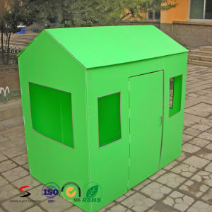 New Design of Foldable Playhouse for Kids Toy DIY Assembly House pictures & photos