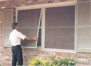 Fly Screen for Window DIY - Insect Screen for Window-Mosquito Net for Window