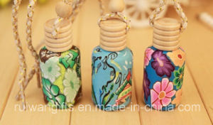 Clay Car Perfume Bottle for Car Air Freshener pictures & photos