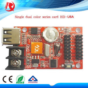 Outdoor Used Control Card HD-U6a for P10 Single and Dual Color pictures & photos