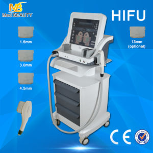 Vertical Salon Hifu Machine / High Intensity Focused Ultrasound Hifu for pictures & photos