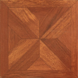Solid Wood Feeling Parquet Laminate Flooring on 12mm pictures & photos