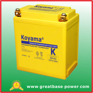 High Superior Motorcycle Battery 12V 14ah pictures & photos