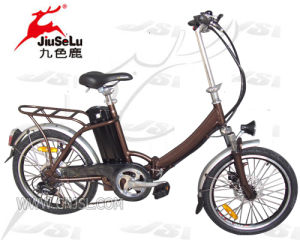 "20"" Aluminum Alloy Frame Folding Electric Bicycle (JSL-039ZL) pictures & photos"
