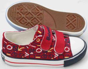 Latest Design Kids Canvas Shoes Vulcanized Shoes (SNK-02073) pictures & photos