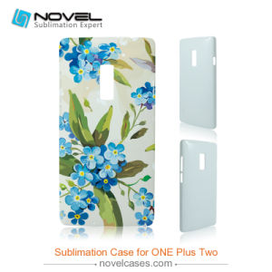 3D DIY Plastic Sublimation Cell Phone Cases for One Plus Two