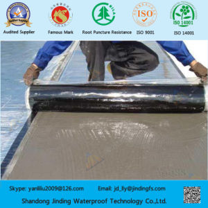 Self-Adhesive Asphalt Waterproof Membrane with Wet Laid pictures & photos