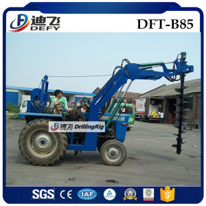 Tractor Mounted Pile Driver Machine, Ground Drilling Rig for Sale pictures & photos