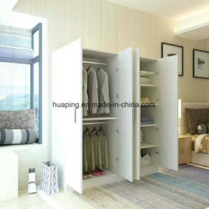 Bedroom Furniture Chipbobard and MDF Wardorbe pictures & photos