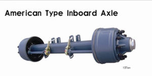 American Type Outboard Axle 13t Manufacturer pictures & photos
