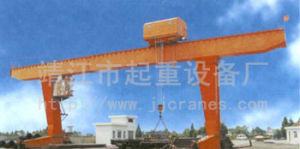 Single-Girder Hook Gantry Crane for Sale