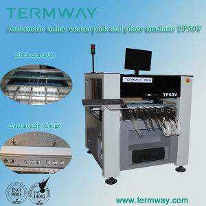 Tp Series Fully Automatic Vision SMT Pick and Place Machine Tp50V pictures & photos