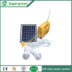 5W Soalr Panel 6V Battery Housing Use Solar Power System pictures & photos