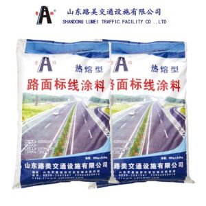 White Thermoplastic Traffic Marking Paint for Road Manufacturers (LM720)