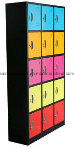 Wholesale Quality 15 Door Metal Steel Iron Locker pictures & photos