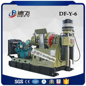1200-2400m Df-Y-6 Hydraulic Driven Diamond Core Drilling Rig Machine Price for Sale pictures & photos