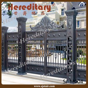 2014 Hot Sale Aluminum Main Gate Designs Indian pictures & photos
