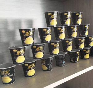 Bottom Price in Mold Label for Ice Cream Cup/Container pictures & photos