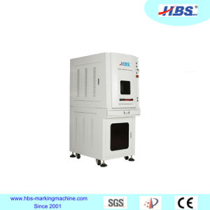 Fully Enclosed 20W Fiber Laser Marking Machine with New Cabinet pictures & photos