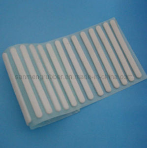 Self adhesive rubber pads anti slip rubber bumpers with adhesive
